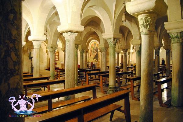 cripta della cattedrale di otranto