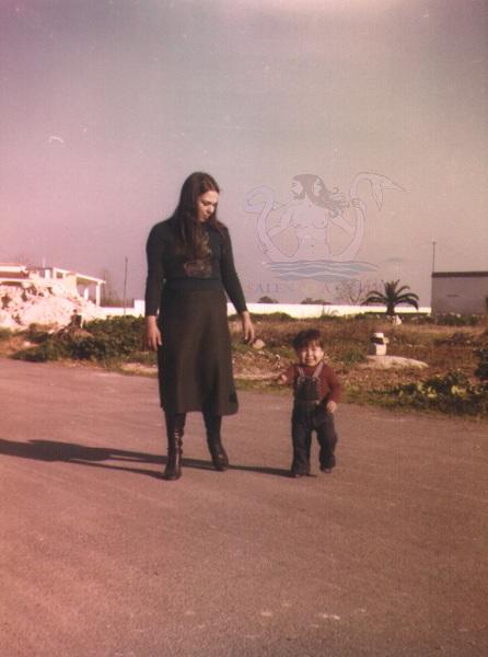 sandrino con mamma