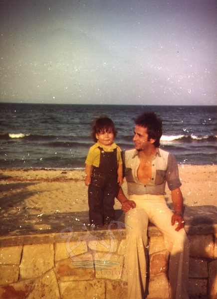sandrino con papà