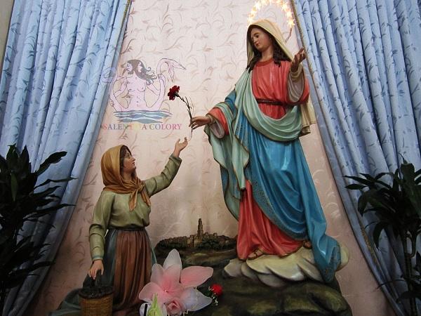 Maria Manca e la Madonna