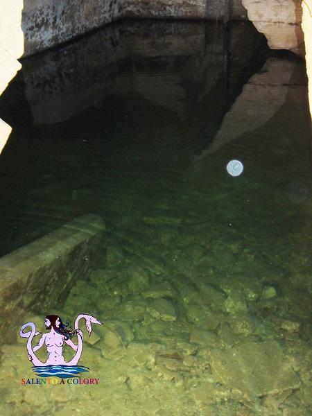 fiume idume sotto palazzo adorno a lecce