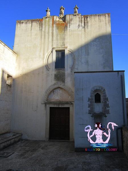 chiesa dei francescani neri a specchia