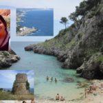 Lungo la costa del Parco Otranto Leuca