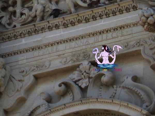 firma di penna su Santa Croce