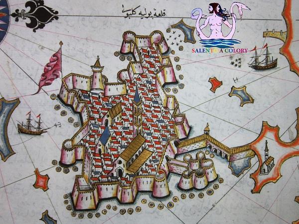 mappa di gallipoli