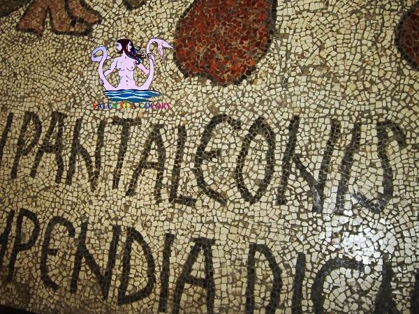 firma pantaleone mosaico di otranto