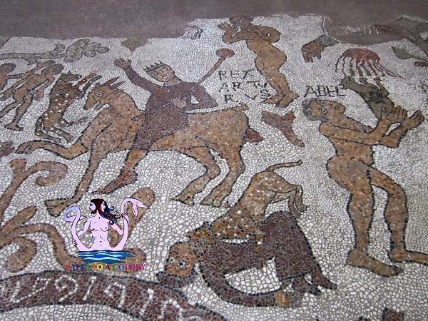 re artù nel mosaico di otranto