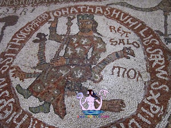 salomone, mosaico di otranto