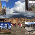 Pompei, la città romana e il Vesuvio