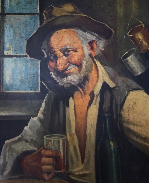vecchietto ubriacone