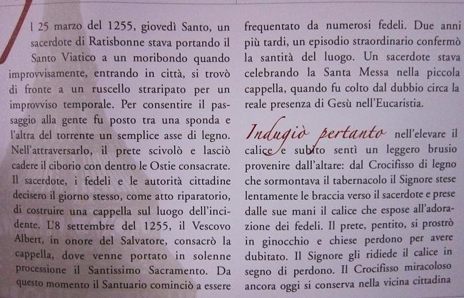 Miracoli Eucaristici