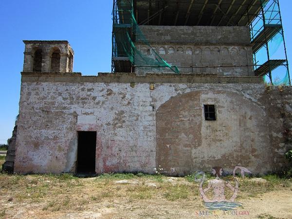 San Pietro dei Samari a Gallipoli, storia nelle campagne