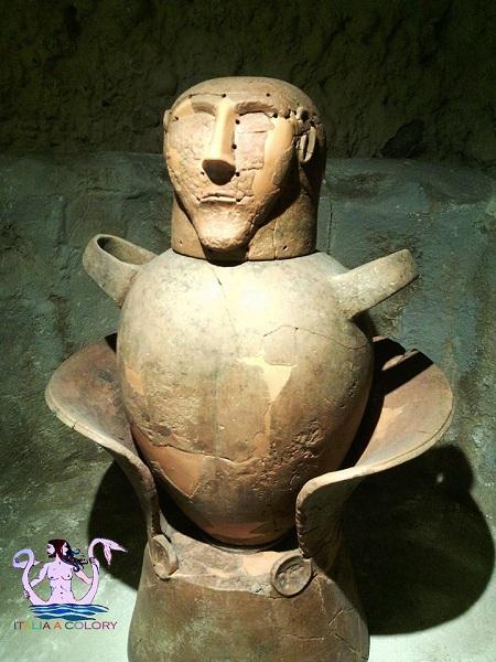 Viaggio in Italia museo etrusco di chianciano