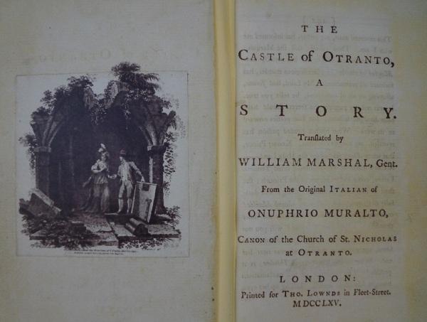 Horace Walpole e il Castello di Otranto