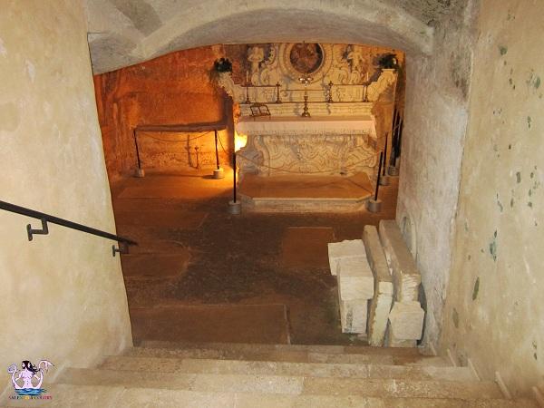 cripta di Santa Cristina
