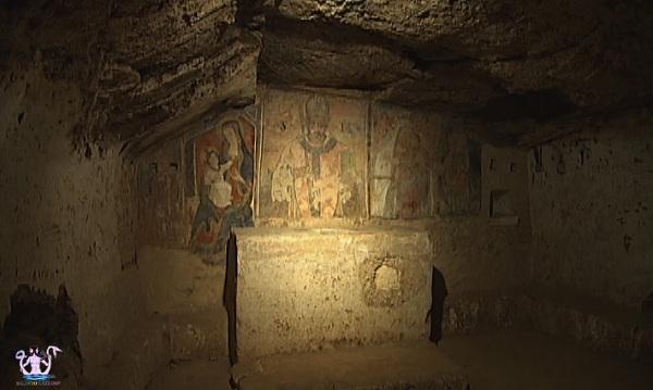 cripta di san mauro oria medievale 8