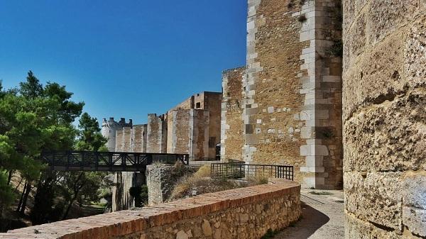 Lucera il castello di Federico II - 5