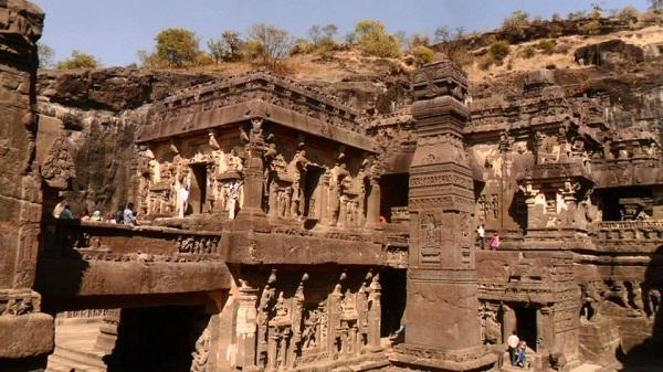 12 kailash temple india