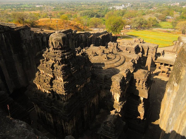 23 kailash temple india