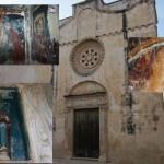 Gli affreschi nascosti dell'antica matrice di Seclì