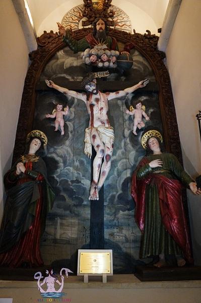 Crocifisso frate Angelo da Pietrafitta - Galatina 1