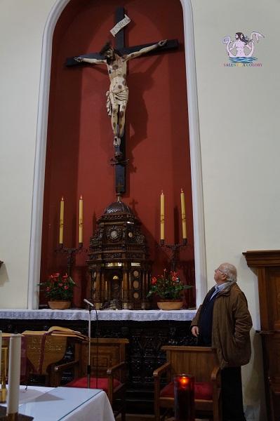Crocifisso frate Angelo da Pietrafitta - Lequile 3