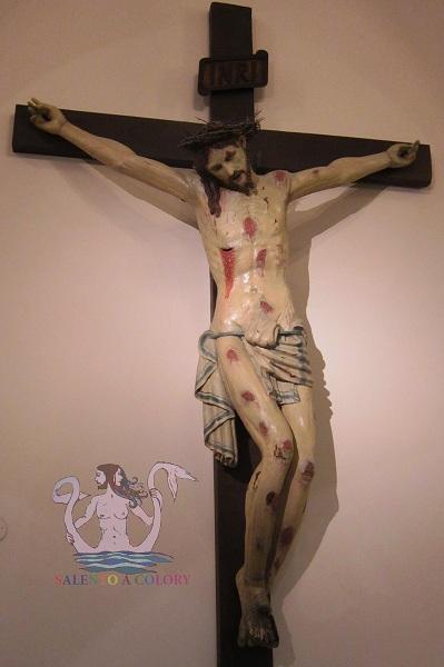 Crocifisso frate Angelo da Pietrafitta - Martina Franca