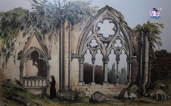 Parigi medievale chiesa abbaziale De Dilo