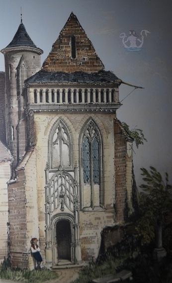 Parigi medievale chiesa di Villiers Sur Tholon