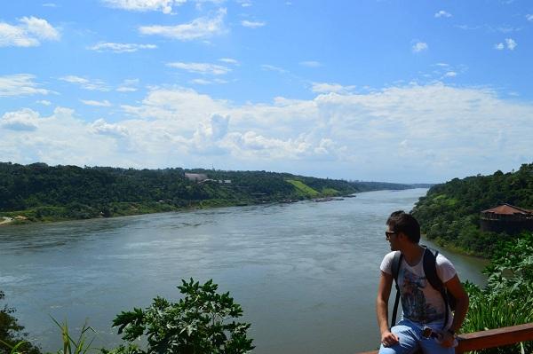 confine fra Argentina Paraguay Brasile