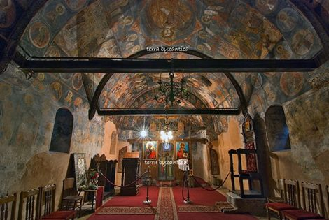 The church of St Panteleimon in Vidin, Bulgaria. XVII cen