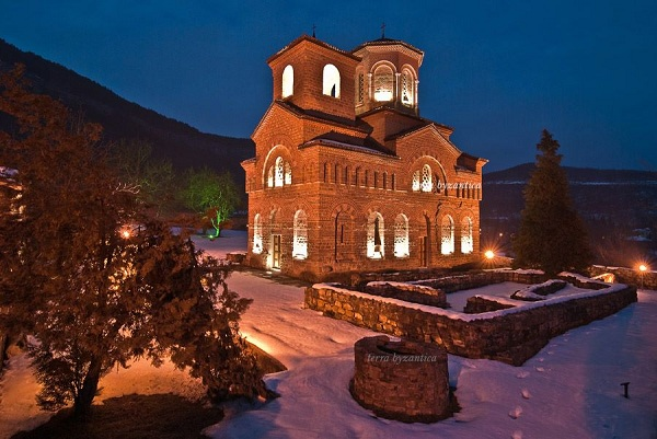 The church of St. Demetrius in Veliko Tarnovo, Bulgaria. XII cen.