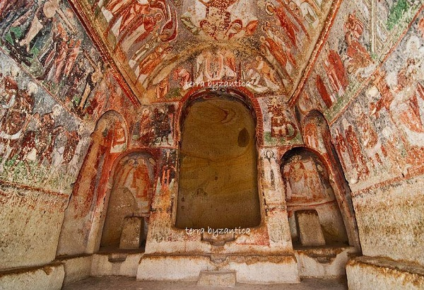 The church of the emperor Nikephoros Phokas. Cappadocia. X cen.
