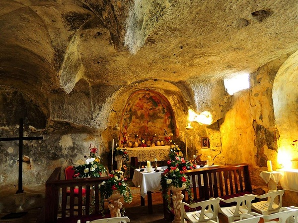 chiesa rupestre Spirito Santo a Monopoli 4