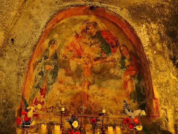 chiesa rupestre Spirito Santo a Monopoli 5
