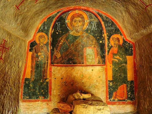 chiesa rupestre di san nicola a mottola 18
