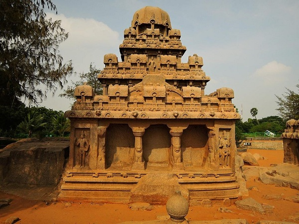 Le meraviglie di Pancha Rathas in India