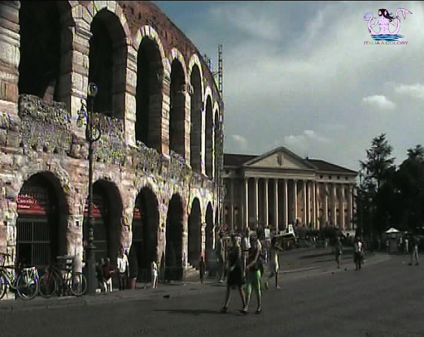 Fra Santi Poeti e Navigatori d'Italia arena di Verona