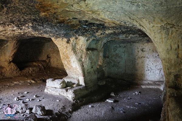 La cripta nascosta di Torre Rinalda