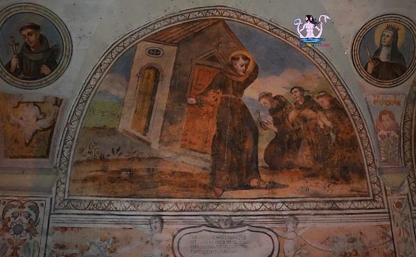 Gli affreschi del convento di Maruggio