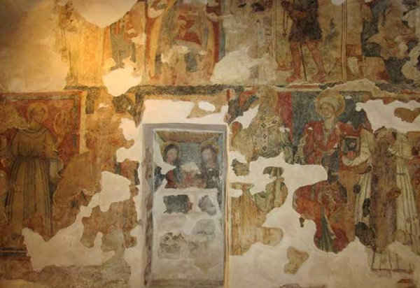 Gli affreschi della Madonna dell'Itri a Nociglia