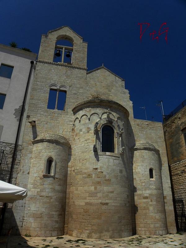 chiesa Ognissanti, a Trani, chiesa dei Templari
