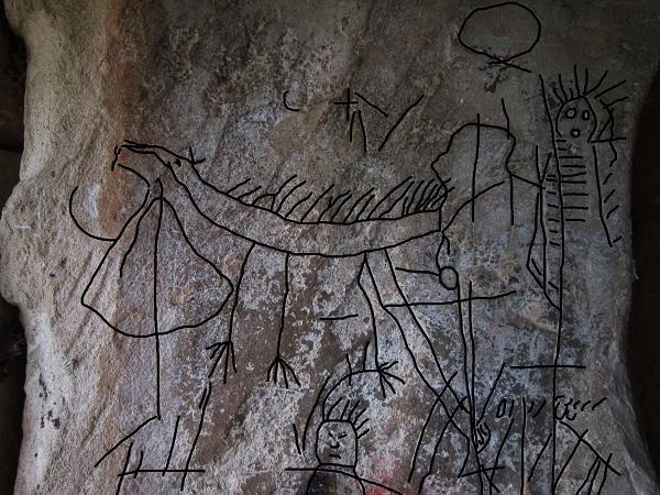 Graffiti misteriosi e nascosti