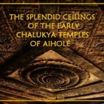 The ceiling of the early Calukya temples of Aihole