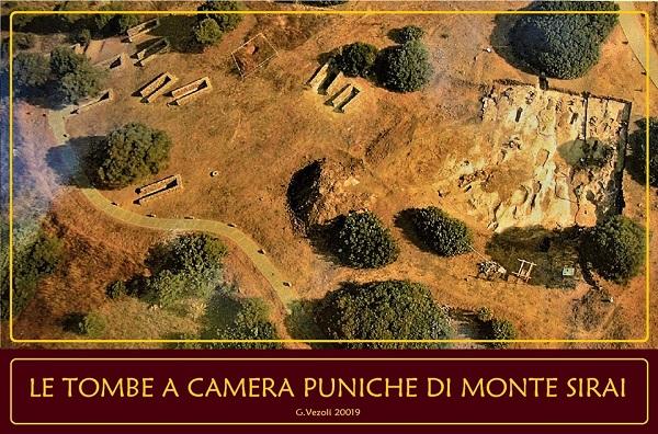 Sardegna, le tombe di Monte Sirai