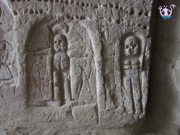 graffiti del palazzo marchesale di melpignano
