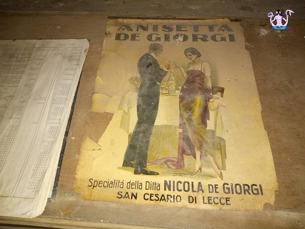 anisetta, distilleria de giorgi a san cesario di lecce