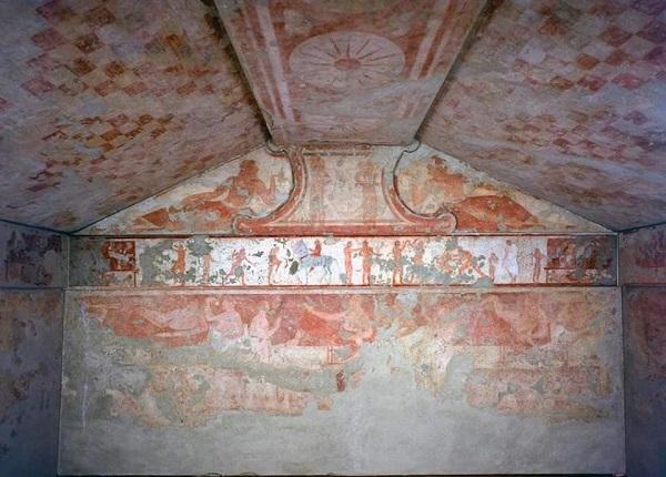 La Tomba delle Bighe a Tarquinia